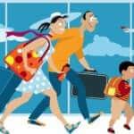 o que levar na mala em uma viagem com crianças