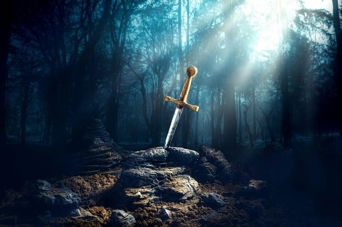 rei artur e excalibur - Rota do Rei Arthur e os Cavaleiros da Távola Redonda na Grã-Bretanha
