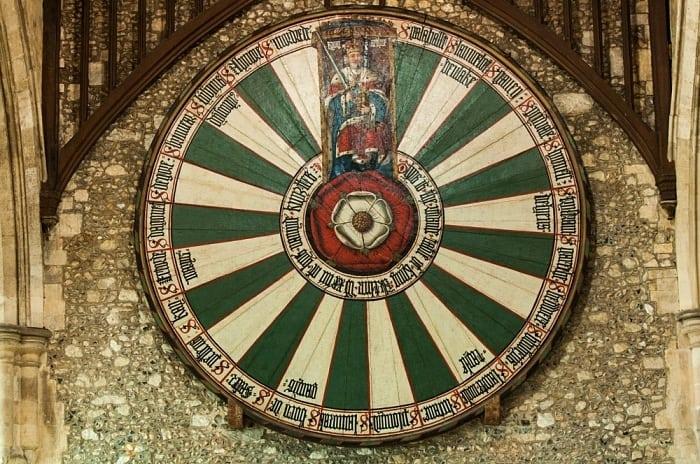 tavola redonda - A rota do Rei Arthur e os Cavaleiros da Távola Redonda na Grã-Bretanha