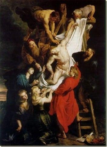 Descida da Cruz Rubens Catedral da Antuerpia - Flandres: conheça essa região da Bélgica que transpira arte!