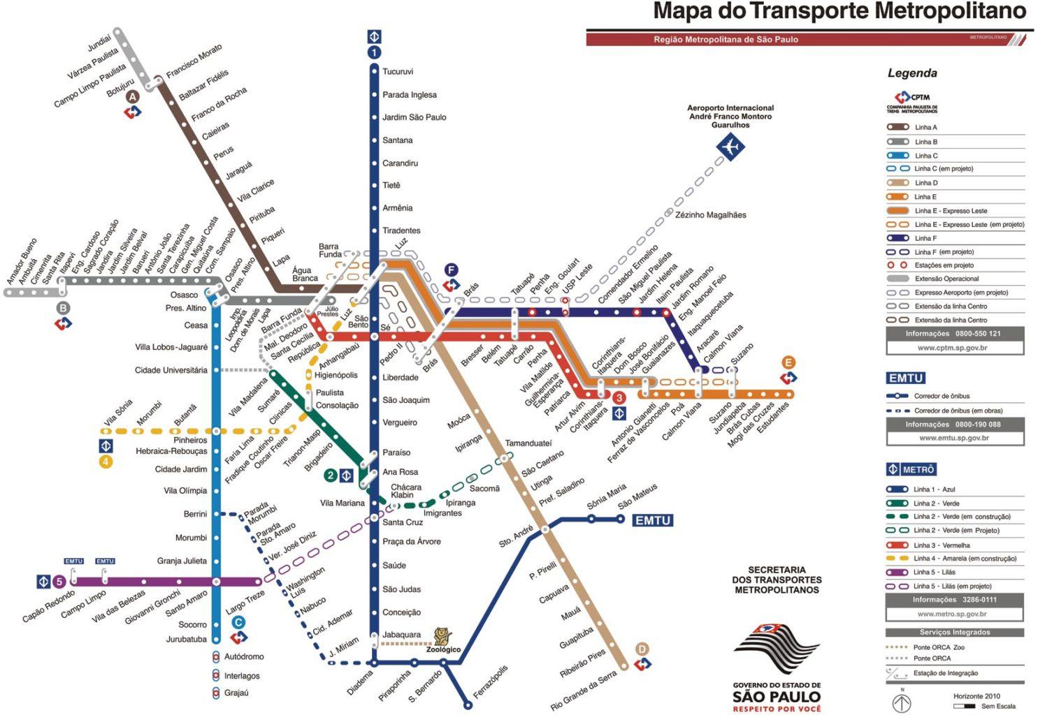 Metrô de São Paulo  tudo o que você precisa saber para usá-lo ... 9546772cde