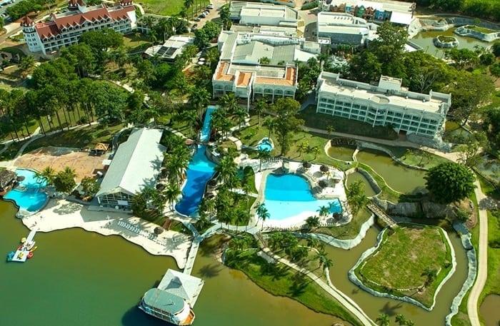 pacote resort