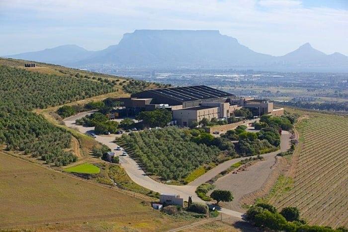 DURBANVILLE HILLS vinho na africa do sul - Rota dos vinhos na África do Sul