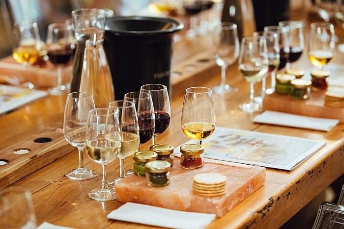 FLEUR DU CAP harmonizacao com sais - Rota dos vinhos na África do Sul