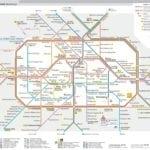 mapa do metrô de Berlim