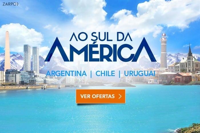 promoção para o Chile, Argentina e Uruguai