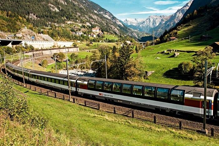 Wilhelm Tell trem suica - Passeio de trem na Suíça com o Grand Train Tour