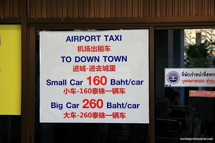 aeroporto chiang mai - Dicas de Chiang Mai, na Tailândia: tudo o que você precisa saber!