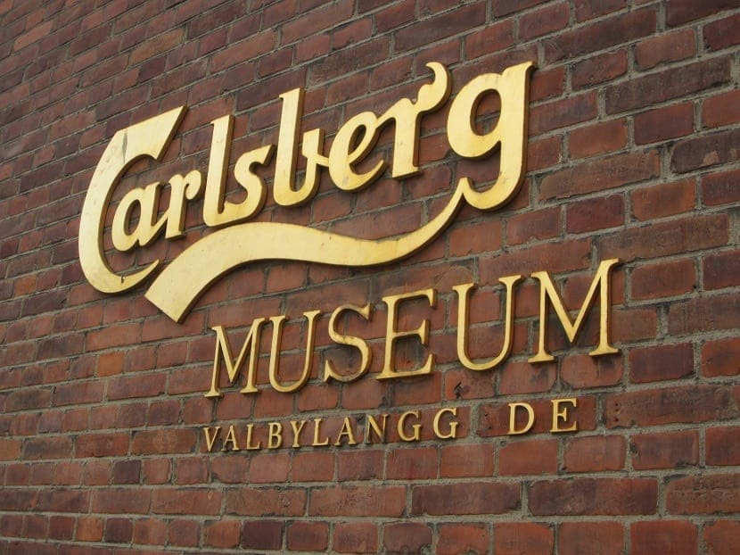 fábrica da Calsberg