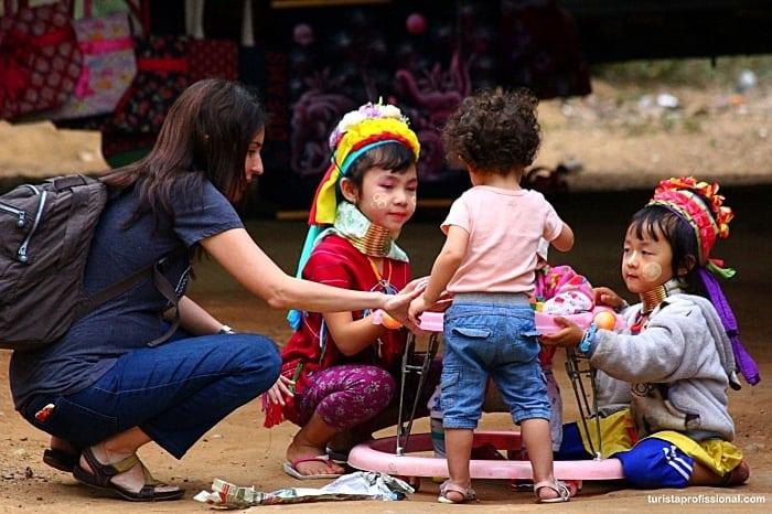 mulheres girafa - Dicas de Chiang Mai, na Tailândia: tudo o que você precisa saber!