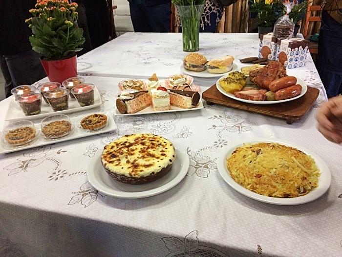 gastronomia em Holambra, a cidade das flores