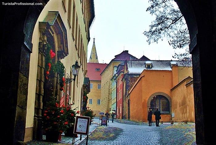 rua do ouro Castelo de Praga