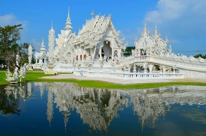 templo branco - Dicas de Chiang Mai, na Tailândia: tudo o que você precisa saber!