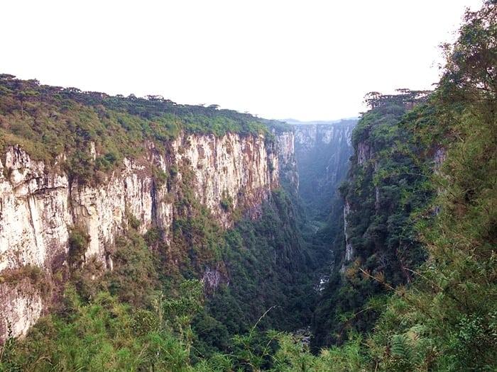 canion itaimbezinho - Roteiro pelos Cânions de Cambará do Sul em 2 dias