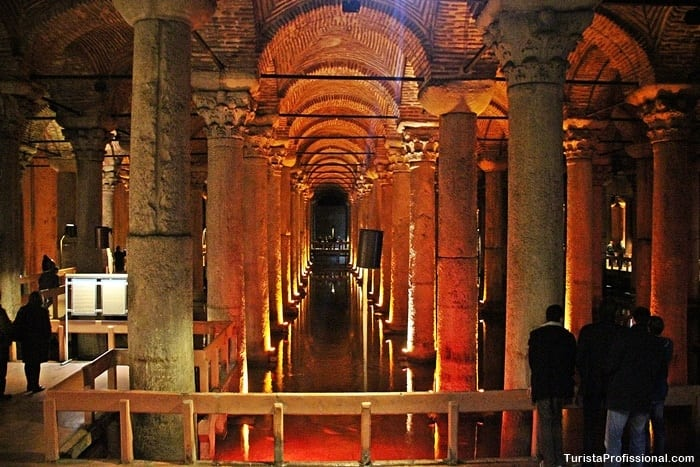 cisterna da basilica - Cisterna da Basílica em Istambul: incrível construção milenar