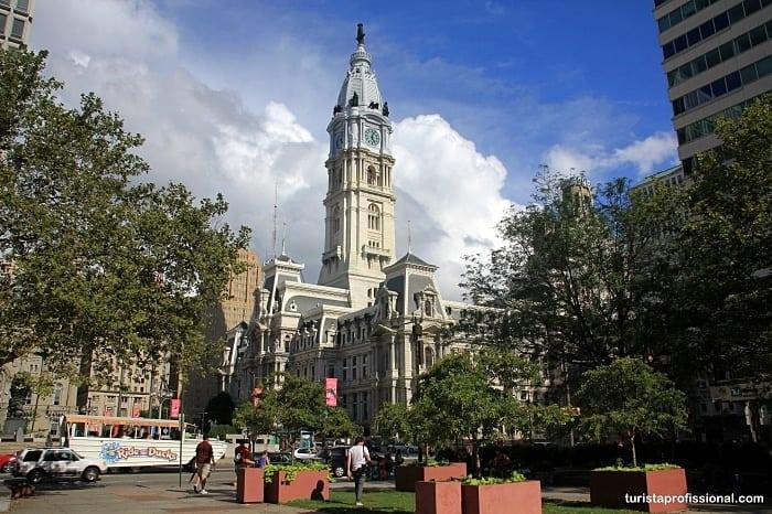 city hall filadelfia - Roteiro de 1 dia na Filadélfia: como chegar e o que visitar