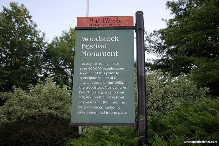 como chegar em woodstock - Que tal visitar o lugar onde aconteceu o Festival de Woodstock?!