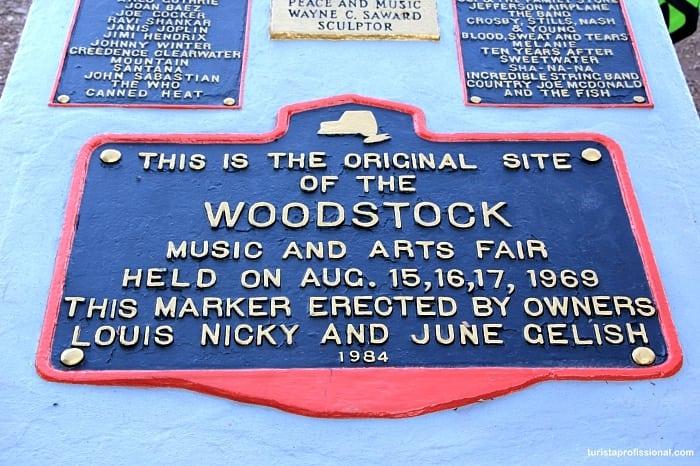 lugar onde aconteceu woodstock - Que tal visitar o lugar onde aconteceu o Festival de Woodstock?!