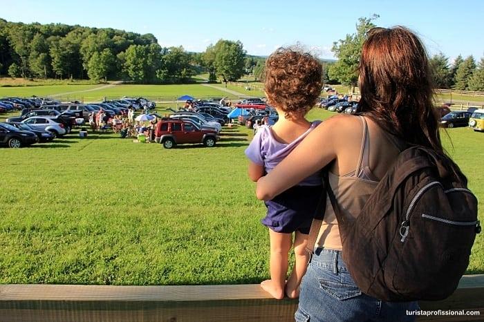 nova york com crianca - Que tal visitar o lugar onde aconteceu o Festival de Woodstock?!