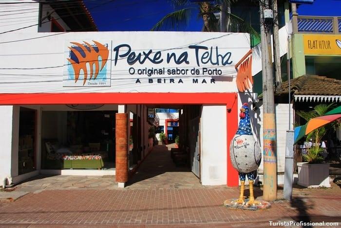 restaurante em Porto de Galinhas Peixe na Telha
