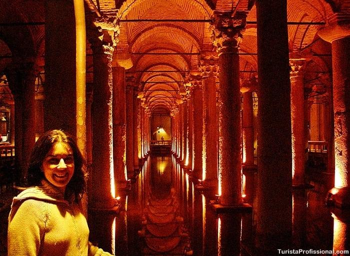 turista profissional 2 - Cisterna da Basílica em Istambul: incrível construção milenar