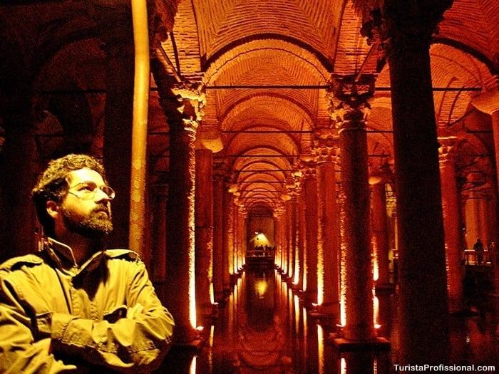 turista profissional 3 - Cisterna da Basílica em Istambul: incrível construção milenar