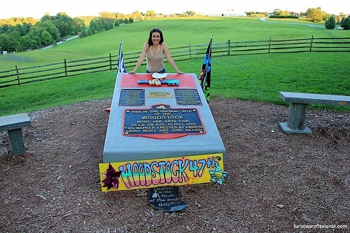 woodstock festival place - Que tal visitar o lugar onde aconteceu o Festival de Woodstock?!