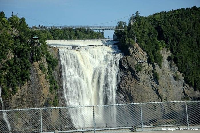 cachoeira quebec - Dicas de Quebec, no Canadá: tudo o que você precisa saber!
