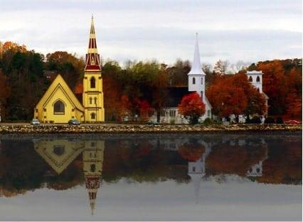 mahone bay canada - 9 cidades pequenas no Canadá que você precisa conhecer!