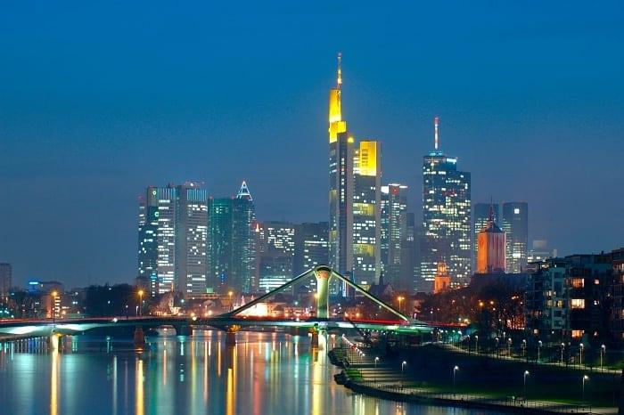 skyline de frankfurt - A nova skyline de Frankfurt, a Manhattan alemã