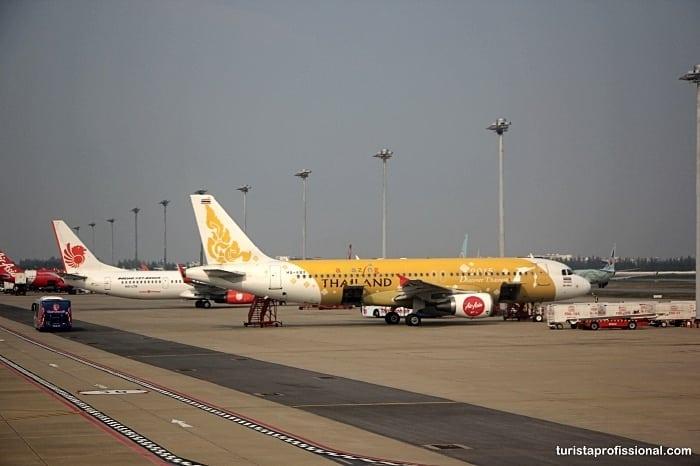Como chegar em Bangkok?