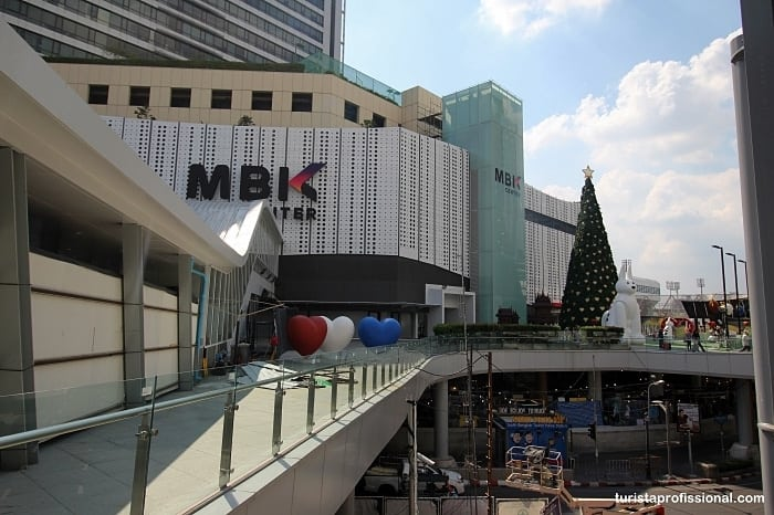 shoppings em Bangkok