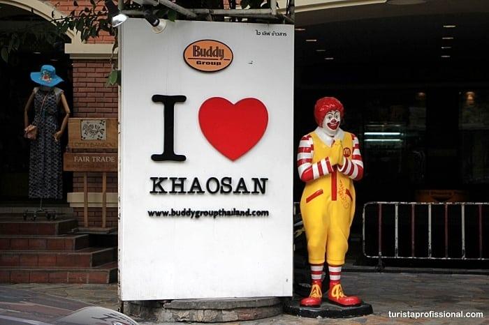 khaosan road - Dicas deBangkok para quem vai a primeira vez