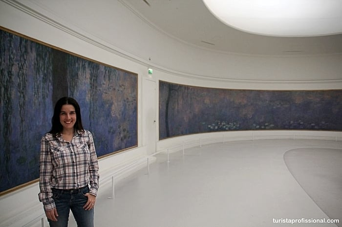 Museu Orangerie em Paris, a casa das Ninfeias de Monet