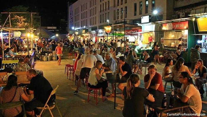 nigth bazar chiang mai - Comidas da Tailândia: nas ruas tem de tudo!