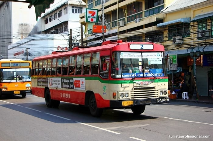 transporte bangkok - Dicas deBangkok para quem vai a primeira vez