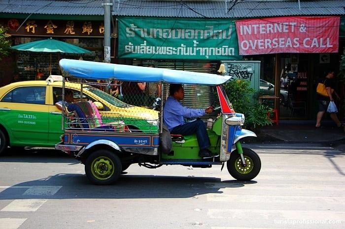 tuk tuk em bangkok - Dicas deBangkok para quem vai a primeira vez