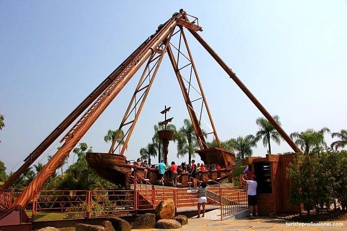barco pirata - Conheça as principais atrações do Beto Carrero World