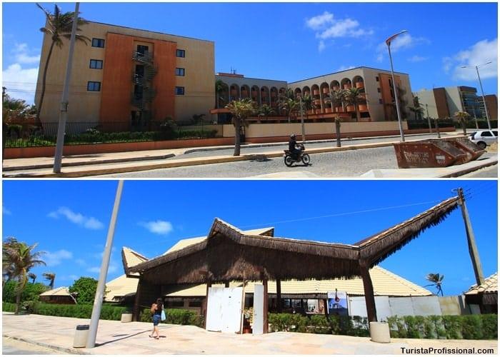 barraca vila gale praia do futuro - Conheça o Vila Galé Fortaleza