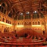 ingresso para o Parlamento Húngaro