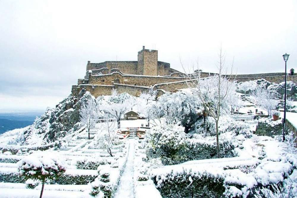 neve em portugal marvao - Onde ver neve em Portugal