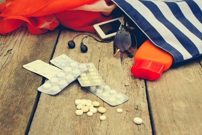 remedios para viagem - Remédios para viagem: o que e como levar