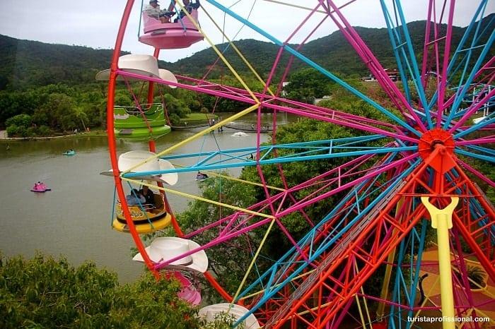 roda gigante - Conheça as principais atrações do Beto Carrero World
