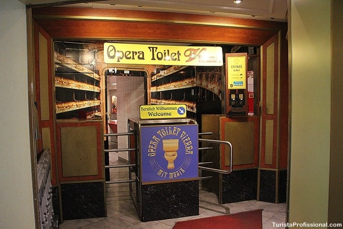 banheiro em Viena