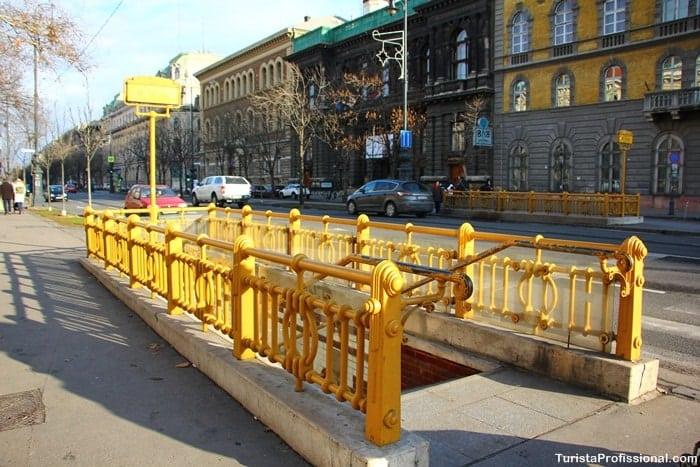 metro em Budapeste