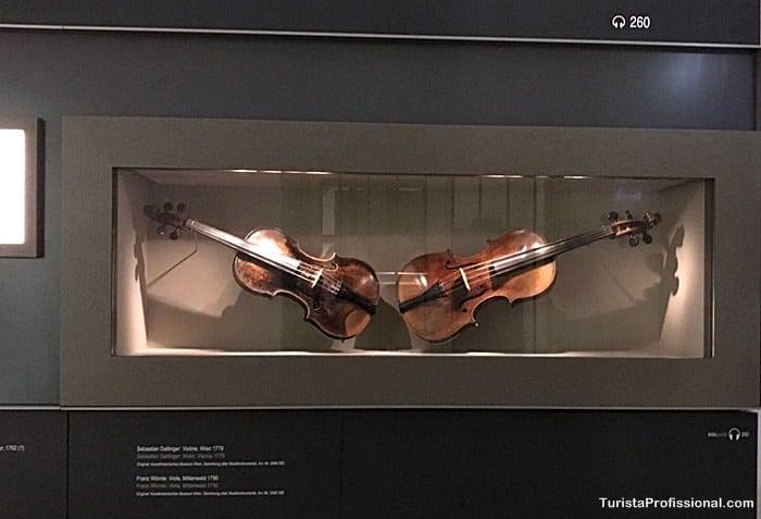 violino de mozart - Seguindo os passos de Mozart em Viena