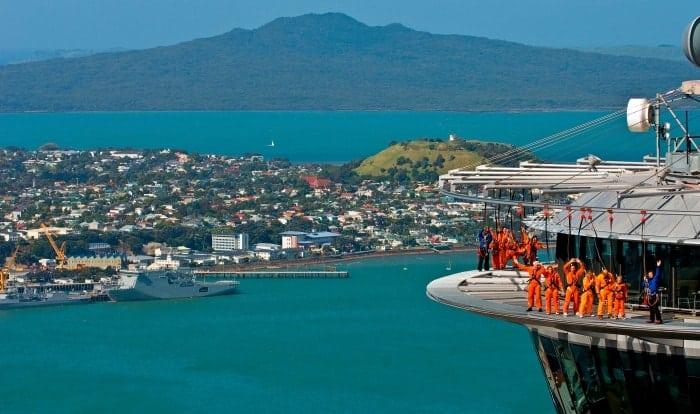 21 Anos da Sky Tower - 18 motivos para visitar a Nova Zelândia