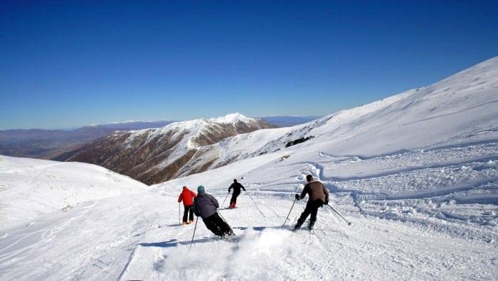 esqui na Nova Zelândia