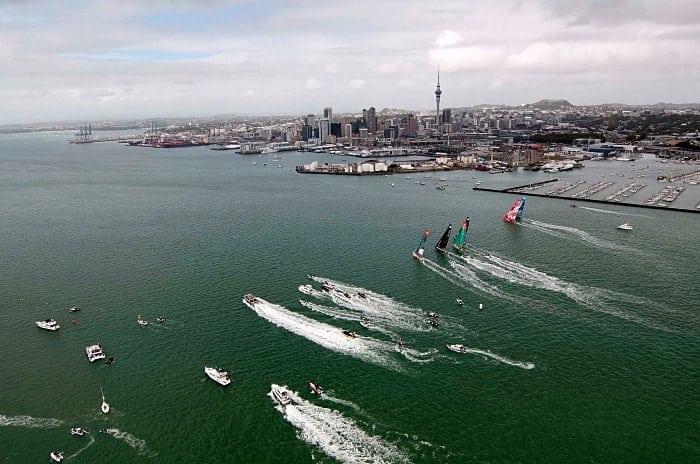 Volvo Ocean Race visitar a Nova Zelândia
