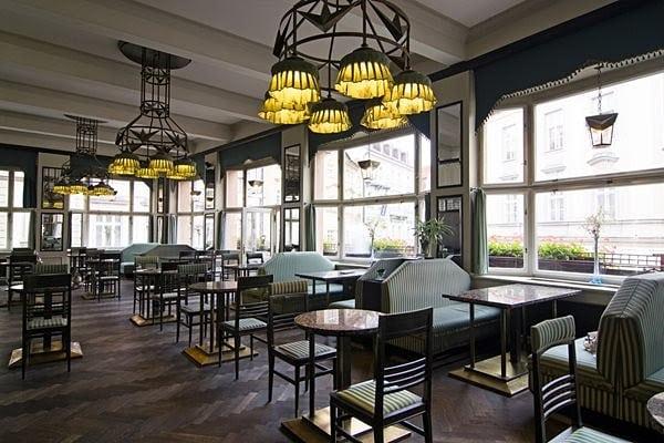 cafés de Praga